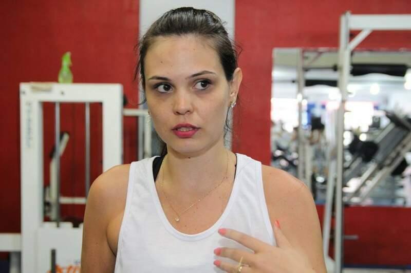 Ganhadora foi Amanda de Souza Hocher, de 30 anos, que perdeu 10,61% de gordura, quase 10 quilos.  (Foto:Fernando Ricardo Ientzsch)