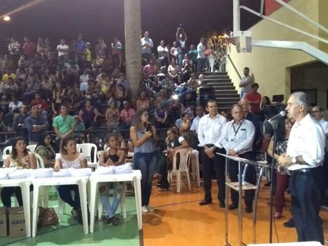 Reinaldo informou que Estado injetará R$ 5,6 milhões nas obras. (Fotos: Humberto Marques)