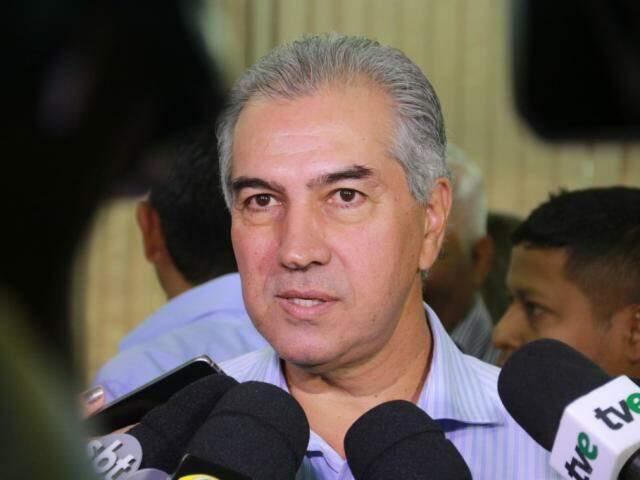 Governador do Estado, Reinaldo Azambuja, PSDB. (Foto: Marcos Ermínio/Arquivo).