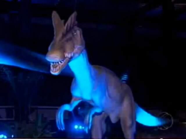 Exposição inédita vai reunir réplicas de dinossauros em tamanho real. (Foto: divulgação)