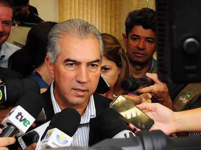 Governador cumpre agenda pública hoje em Campo Grande (Foto: Edemir Rodrigues/Subcom)
