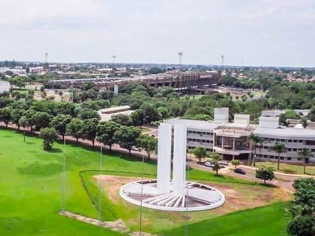 Campus da UFMS em Campo Grande. (Foto: Reprodução)