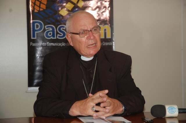 Arcebispo diz que campanha pretende conscientizar a população sobre questões ambientais e envolverá diversos projetos e debates. (Foto: Ricardo Campos Jr.)