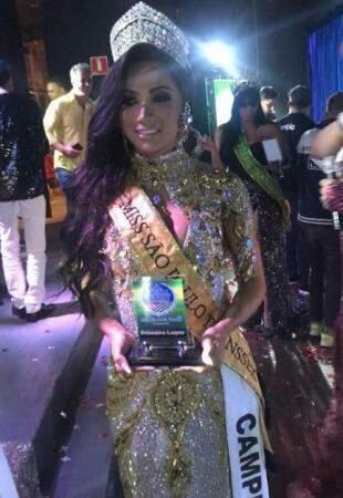Nascida em Coxim, a modelo Mikaelly Zanoto acaba de vencer o Miss São Paulo Transex 2019. (Foto: Arquivo Pessoal)