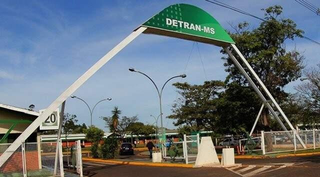 Agência de Campo Grande do Detran-MS (Foto: Arquivo)