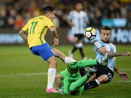 Brasil perde para a Argentina na Austrália em primeiro revés de Tite