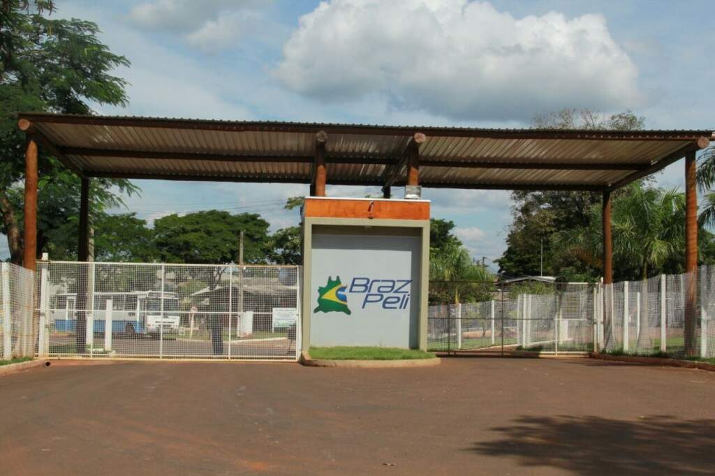 Empresa de denunciante, Braz Peli tem sede em Campo Grande. (Foto: Marcos Ermínio)