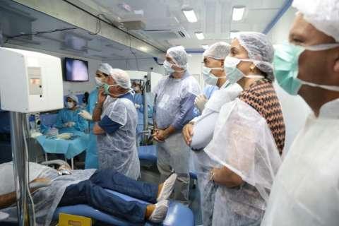 Governo abre seleção para profissionais atuarem na Caravana da Saúde