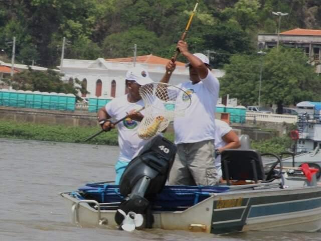 Só pesca de subsistência do dourado continua permitida em Dourados. (Foto: Divulgação)
