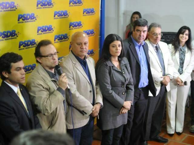 Definida a pré-candidatura de Rose Modesto para a Prefeitura da capital, PSDB vai agora preparar o plano de governo (Foto: Alan Nantes)