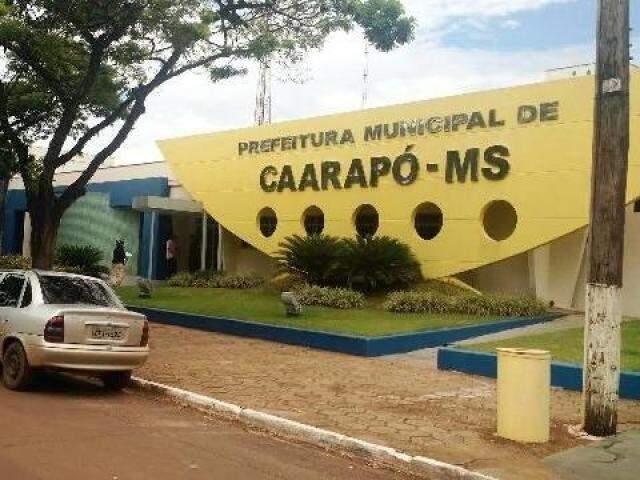 Prefeitura de Caarapó abriu concurso público para preencher diversas vagas (Foto: divulgação/Caarapó News)