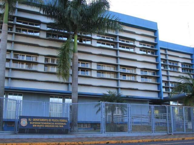 Sede da Superintendência da Polícia Federal. (Foto: Marina Pacheco).