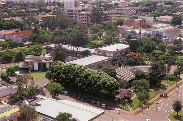 Na planta original, de 1909, o início da história da Av. Afonso Pena e da cidade