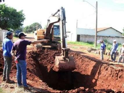 Obras de esgoto no Santa Luzia começam nesta quarta-feira