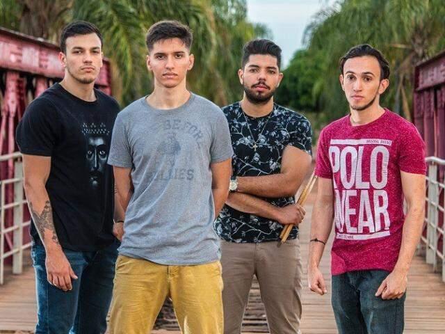A banda Nosso Mundo faz a abertura do festival (Foto: Divulgação)