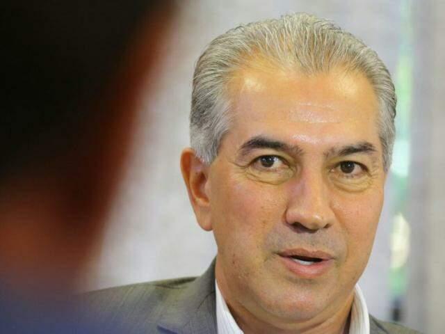 Governador do Estado, Reinaldo Azambuja, PSDB. (Foto: André Bittar/Arquivo).