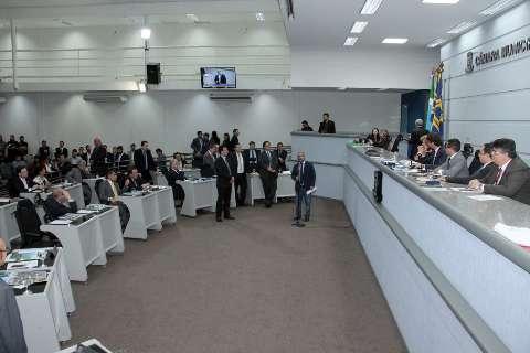 Sete vereadores ficam de plantão durante recesso na Câmara