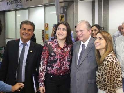 """Soraya afirma que segue à frente do PSL em MS """"enquanto for necessário"""""""
