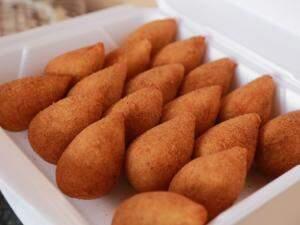 As famosas coxinhas de Gyovanna.