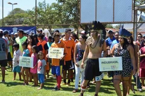 Jogos indígenas começam com 700 atletas de 20 comunidades da Capital