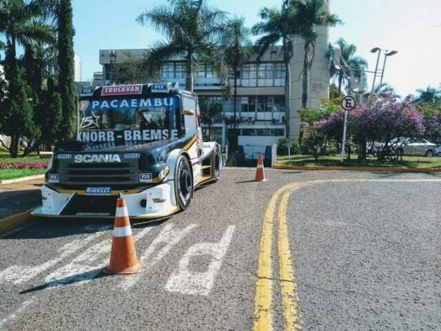 Copa Truck é a principal atração esportiva neste fim de semana em Campo Grande (Foto: Divulgação)