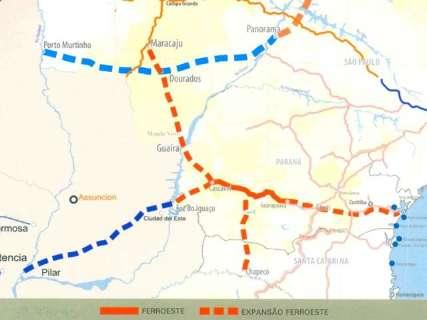 Audiência na segunda retoma sonho de ferrovia entre Dourados e PR