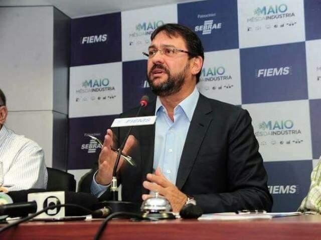 Presidente da Fiems, Sérgio Longen, durante evento (Foto: Divulgação)