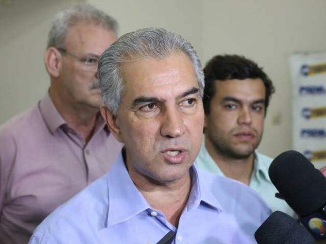 Reinaldo disse ter procurado Bolsonaro para solicitar o fechamento das fronteiras. (Foto: Paulo Francis)