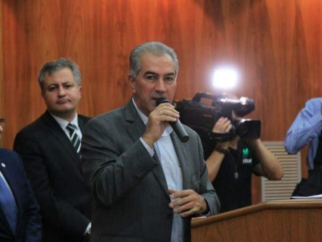 Governador defende atuação enérgica contra as falsas notícias que podem prejudicar campanhas (Foto: Marina Pacheco)