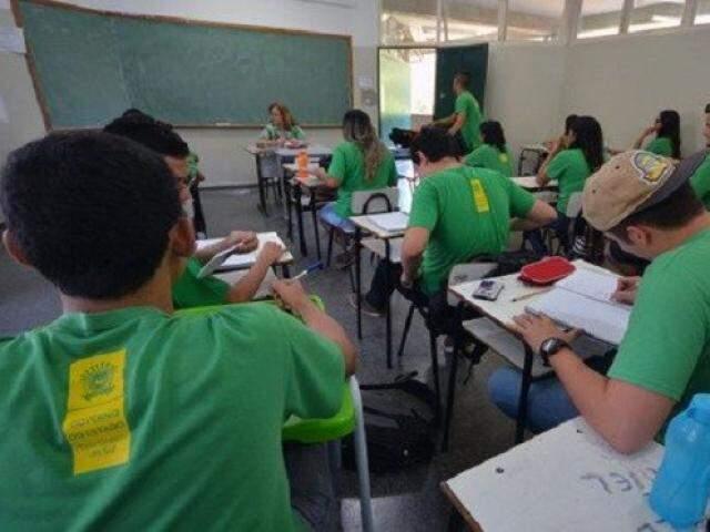 Carteira de vacinação será obrigatória na matrícula da rede estadual (Foto/Divulgação:governo de MS)