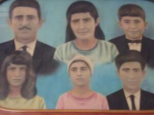 Imagem dos primeiros membros da família Nogueira (Foto: Marlei Cunha)