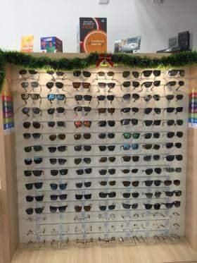 A loja trabalha com as melhores marcas de lentes do mercado (Foto: Divulgação)