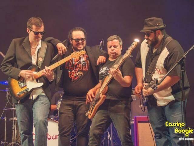 A banda Cassino Boogie será uma das atrações do fim de semana de abertura do Jack Music Pub.(Foto:Facebook)
