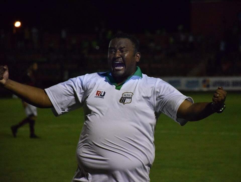 Bazílio Amaral foi vice-campeão do Estadual 2017 com o Novoperário, de Campo Grande, e agora assume o Sete de Setembro na Série D do Brasileiro (Foto: Sete/Divulgação)