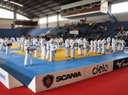 Campo Grande é escolhida para receber Brasileiro de judô em agosto