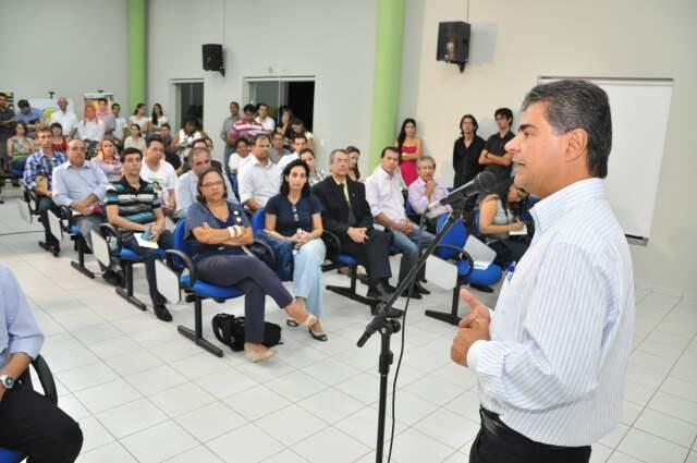 Prefeito participou do evento e falou do compromisso com o meio ambiente. (Foto: João Garrigó)