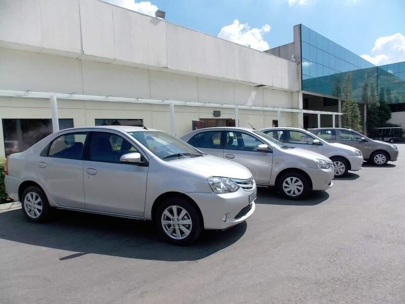 Veículos para teste drive (Foto Márcio Martins)