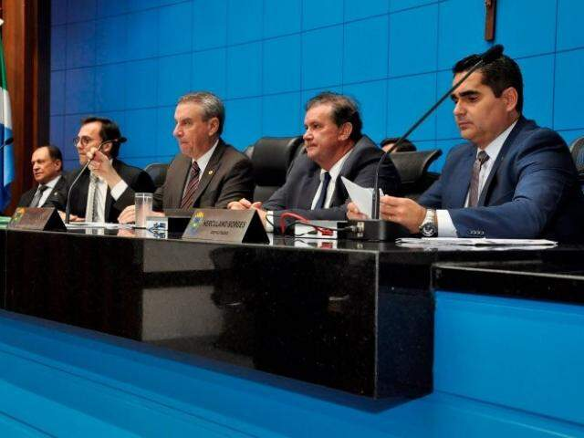 Proposta foi apresentada pela Mesa Diretora da Assembleia Legislativa (Foto: Luciana Nassar/ALMS)