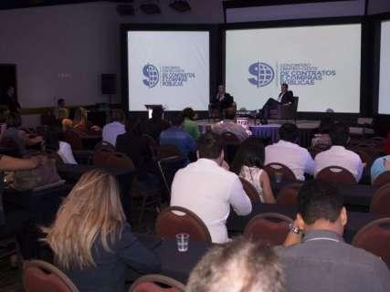 MS recebe congresso sobre elaboração de editais, contratos e compras públicas