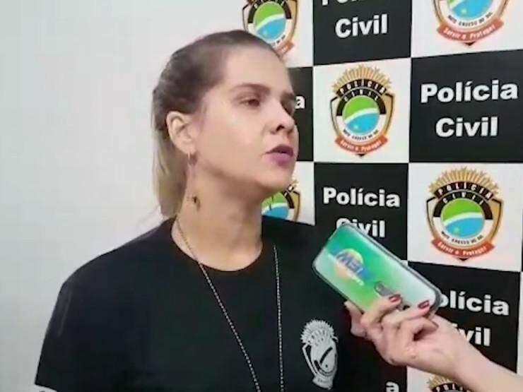 Delegada detalha prisões feitas durante operação contra a pedofilia em MS