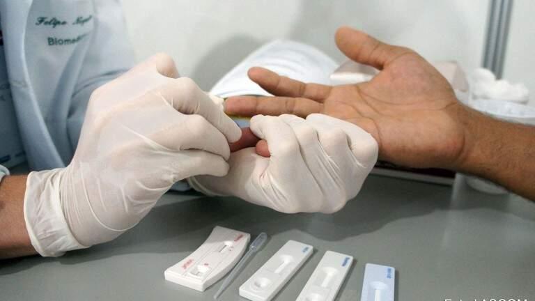 Exames identificam as infecções sexualmente transmissíveis.