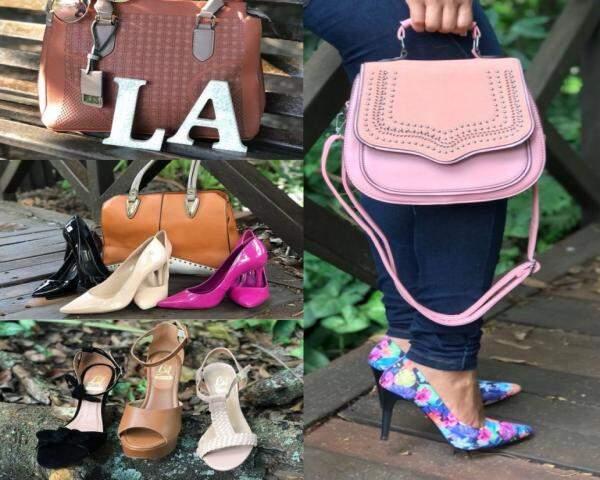 LA Delivery tem a sua marca própria nos calçados LA SHOES. (Foto: Divulgação)
