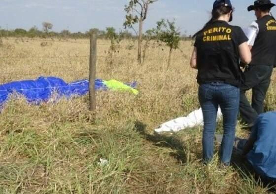 Problema no pouso fez paraquedista experiente cair.