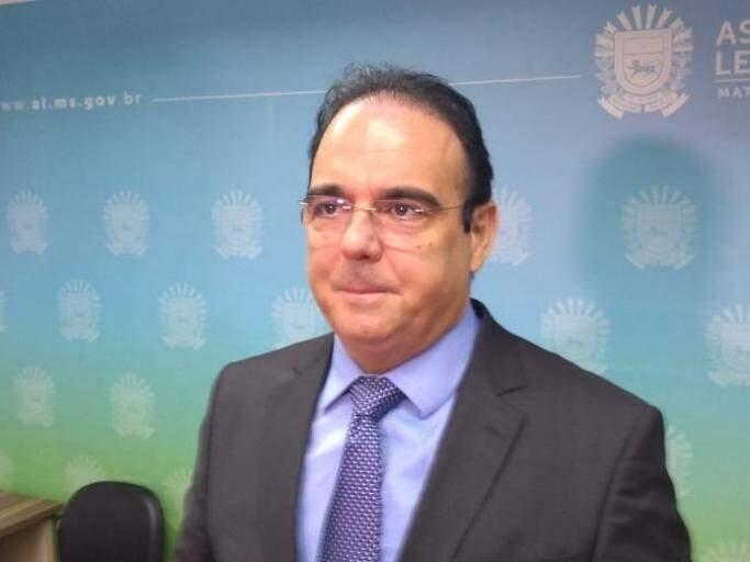 Deputado Felipe Orro durante sessão na Assembleia Legislativa.(Foto: Leonardo Rocha).