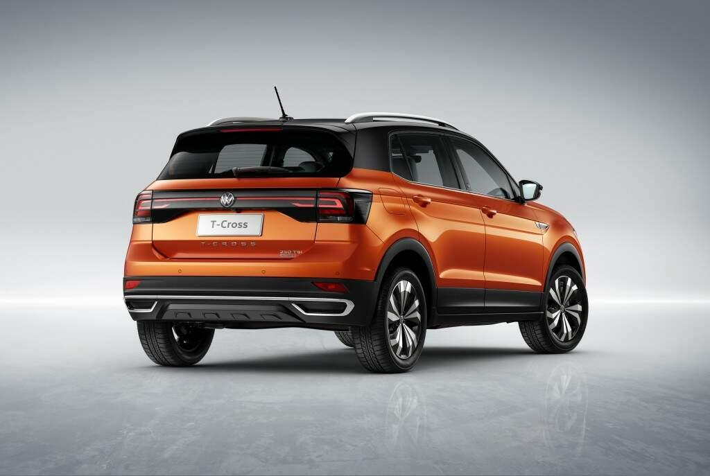 Volkswagen mostra ao público o SUV T-Cross