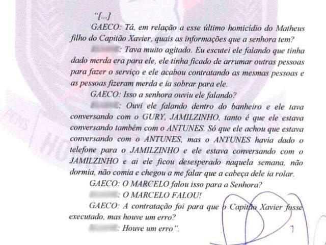 Depoimento demonstra nervosismo de Marcelo Rios e admissão do erro na morte de Matheus (Foto/Reprodução)