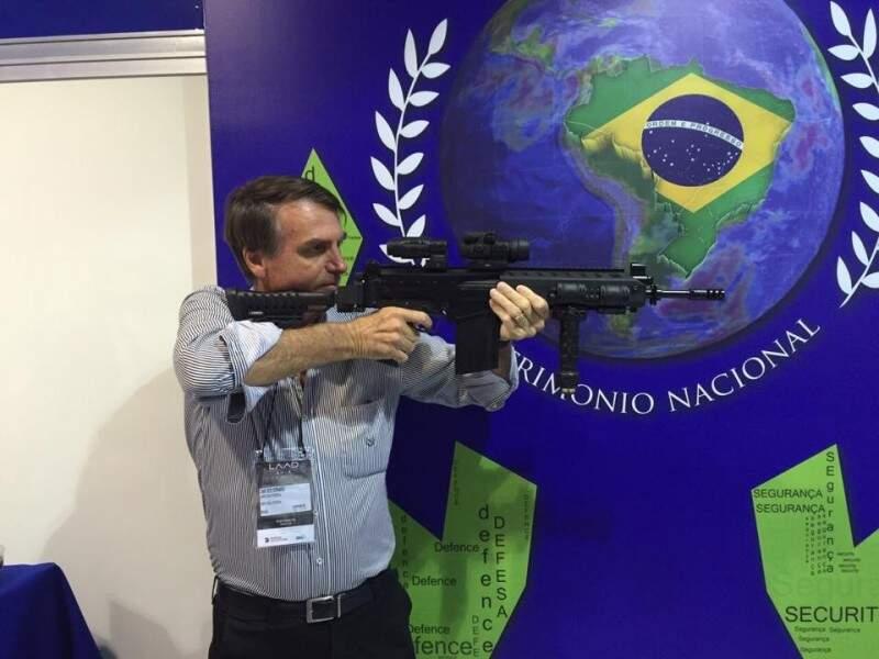 Bolsonaro é conhecido por declarações polêmicas. (Foto: Reprodução/Facebook)
