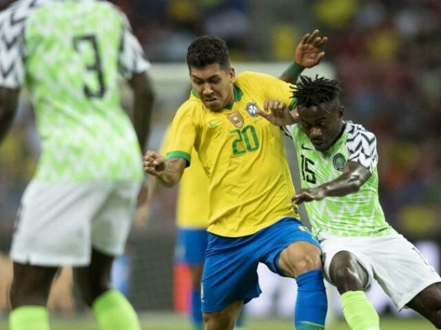 Brasil enfrentou a Nigéria no Estádio Nacional de Singapura (Foto: Lucas Figueiredo/CBF)