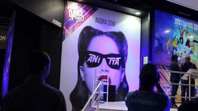 A cantora Anitta terá a sua música Bang no Just Dance 2017.