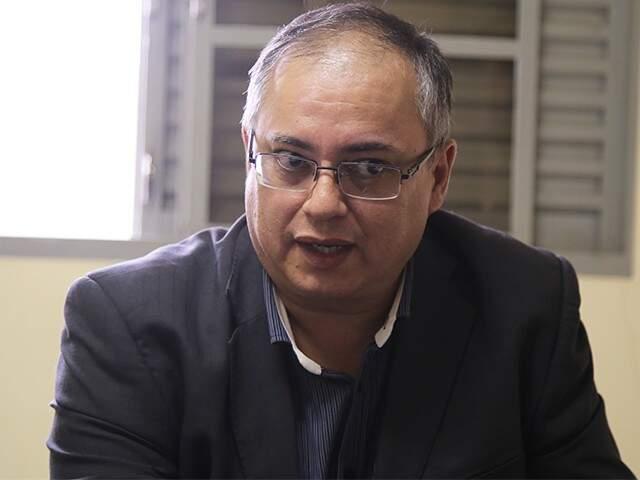 Advogado Mário Fonseca é candidato do PC do B ao Senado (Foto: Guilherme Rosa)